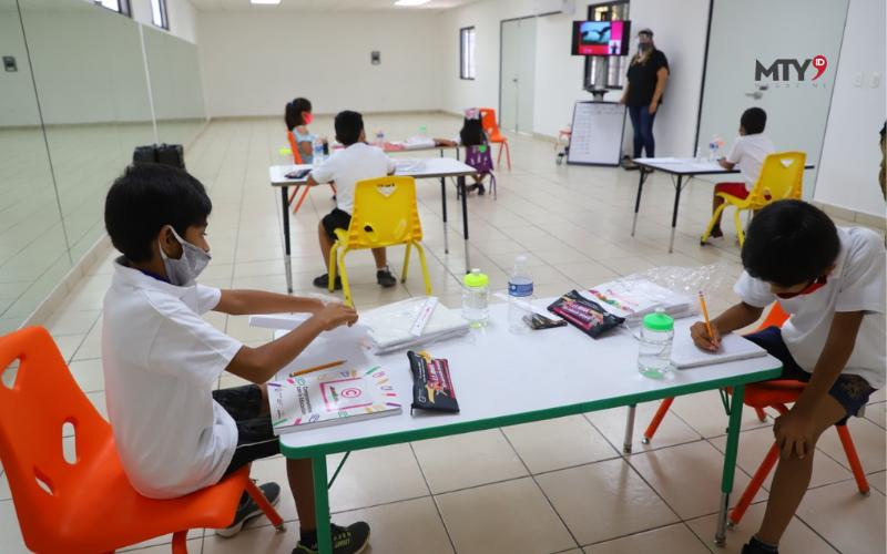 Apoyan a niños con espacios para Tele Educación