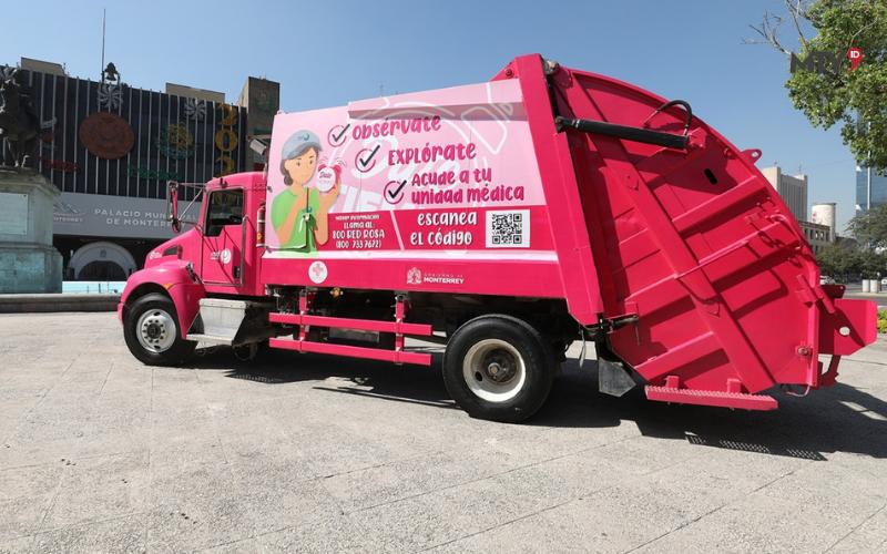 Inician Monterrey y Red Ambiental campaña contra cáncer de mama