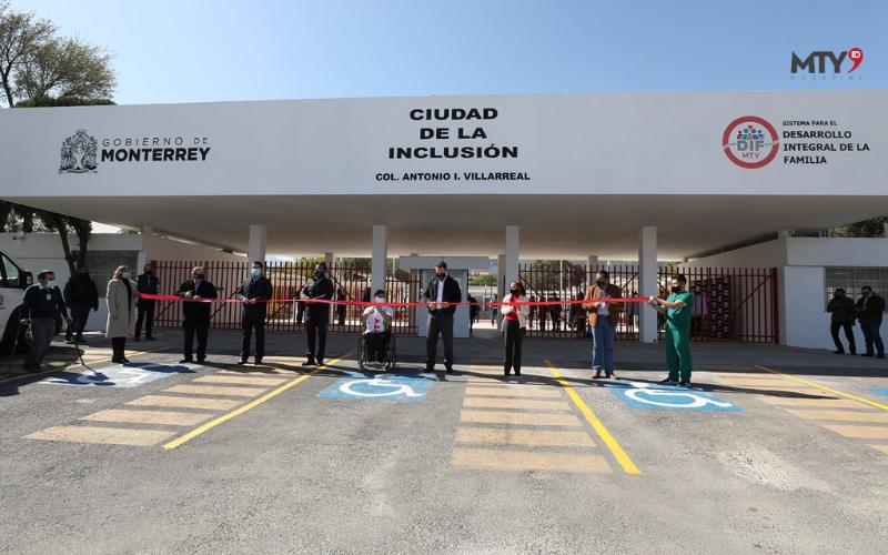 """Inaugura Alcalde """"Ciudad de la Inclusión"""""""
