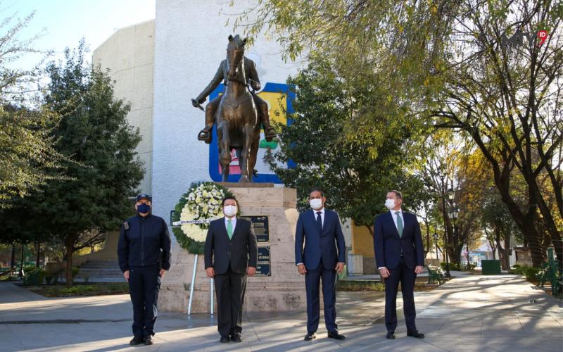 Conmemoran 305 Aniversario de la Fundación de Guadalupe