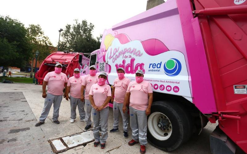 """Inicia en Monterrey Campaña Rosa: """"La campana de la vida"""""""